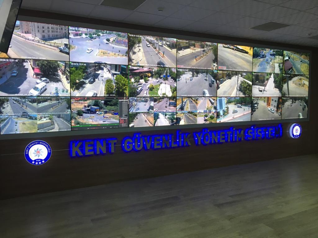 Siirt Kgys (Kent Güvenliği Yönetim Sistemi) projemiz başarı ile tamamlanmıştır. Siirt ilimiz güvende!